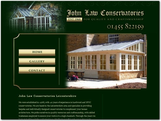 http://www.johnlawconservatories.co.uk/ website