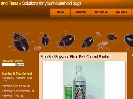 https://www.stopbedbugsandfleas.co.uk/ website