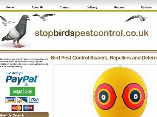 https://www.stopbirdspestcontrol.co.uk/ website