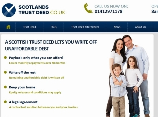https://www.scotlandstrustdeed.co.uk website