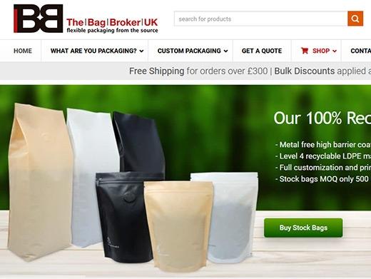 https://www.thebagbroker.co.uk/ website