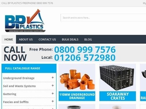 https://www.plasticdrainage.co.uk/ website