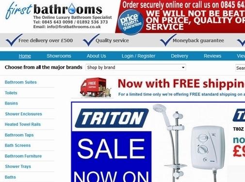 https://www.firstbathrooms.co.uk/ website