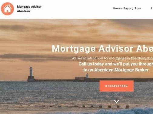 https://www.mortgagebrokeraberdeen.co.uk/ website