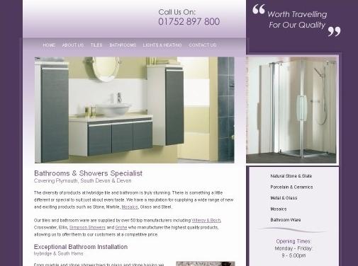 http://ivybridgebathroomandkitchens.co.uk/ website