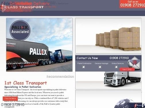 http://www.1stclass-transport.co.uk/ website