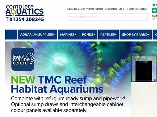 https://www.completeaquatics.co.uk/ website