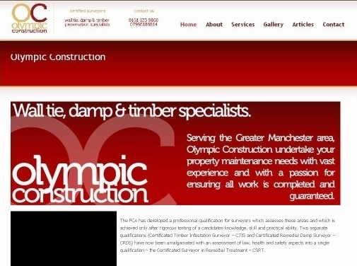 https://www.olympic-construction.co.uk/ website