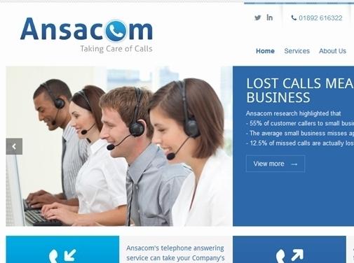 https://www.ansacom.co.uk/ website