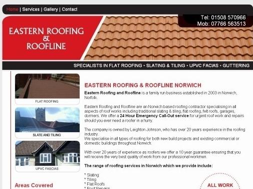 https://www.easternroofing.co.uk/ website