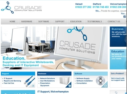 http://www.crusade-cs.co.uk/ website