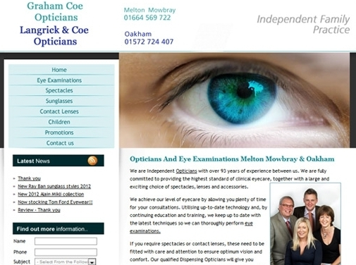 http://www.opticians-oakham-meltonmowbray.co.uk/ website