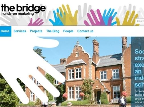 https://thebridgemarketing.co.uk/ website