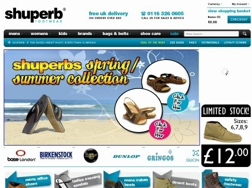 https://www.shuperb.co.uk/ website