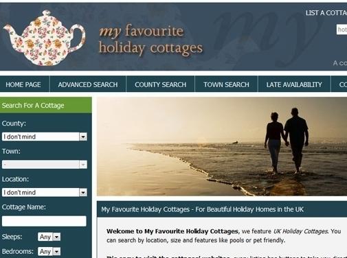 https://www.myfavouriteholidaycottages.co.uk website