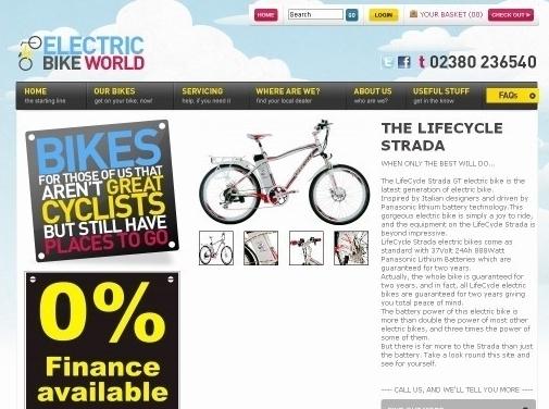 https://www.electricbikeworld.net/ website