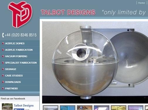http://www.talbotdesigns.co.uk website