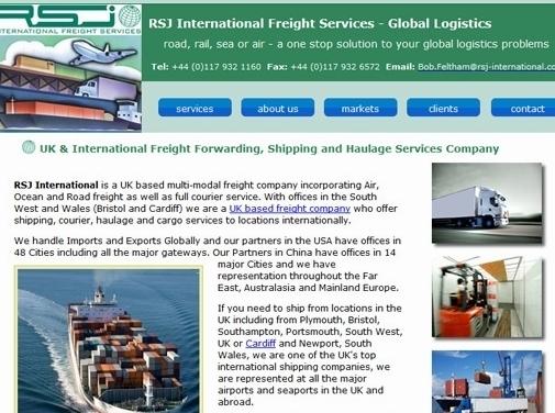 https://www.rsj-international.co.uk/ website