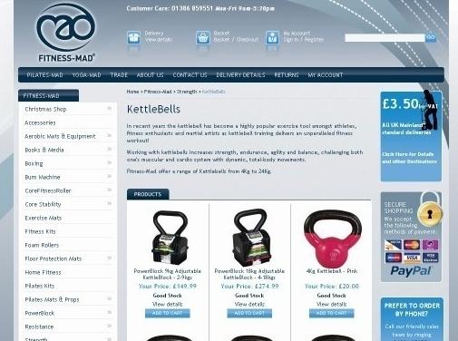 https://www.mad-hq.com/kettlebells website