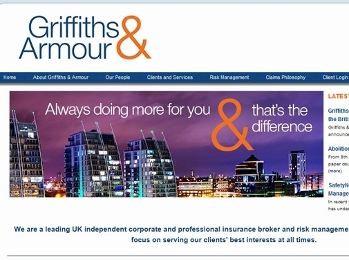 https://www.griffithsandarmour.com website